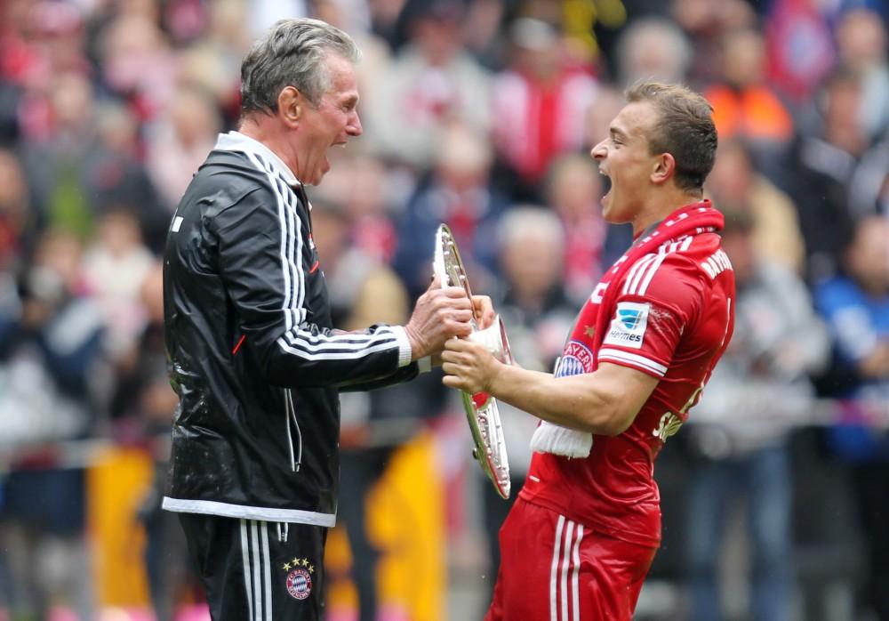 Meisterschaft des FC Bayern 2013 - Tripple-Sieg