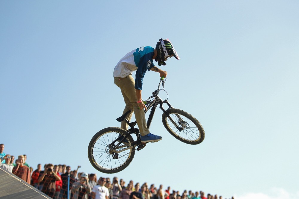 MTB-Slopestyle Finals bei den X-Games Munich