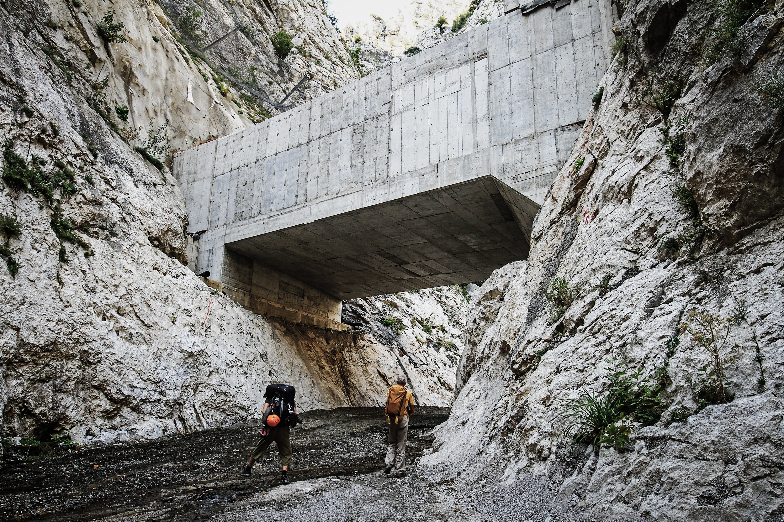 Entschleunigt Klettern in Mazedonien